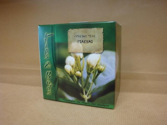 Tips & Buds Γιασεμί Πράσινο Τσάι Κίνας