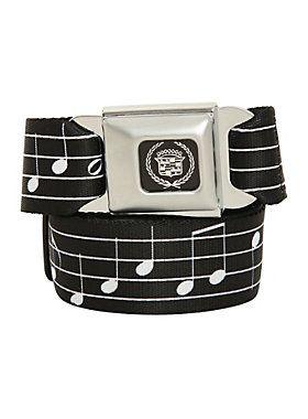 Music Notes Seatbelt belt. 26.50