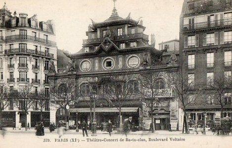 Le boulevard Voltaire à Paris