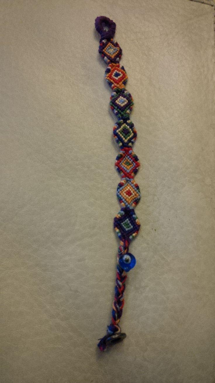 Indian macrame bracelet
