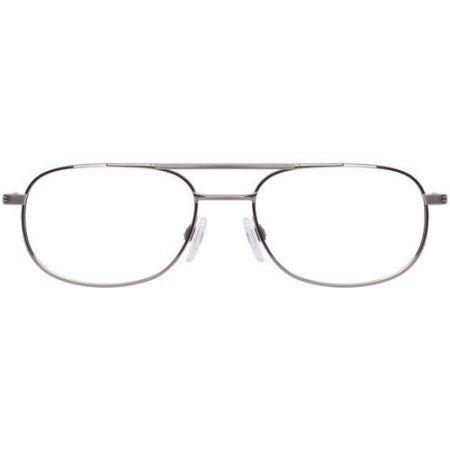 Stetson Mens Prescription Glasses, 239 Gunmetal, Silver
