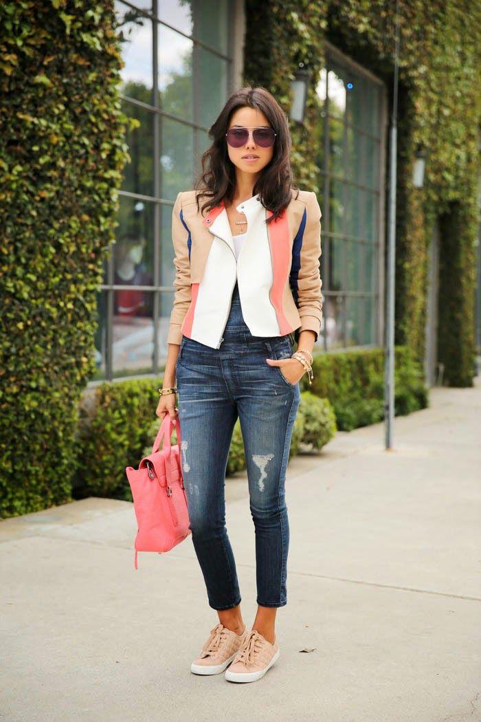 VivaLuxury - Fashion Blog by Annabelle Fleur: DENIM OVERALLS KIND OF A DAY