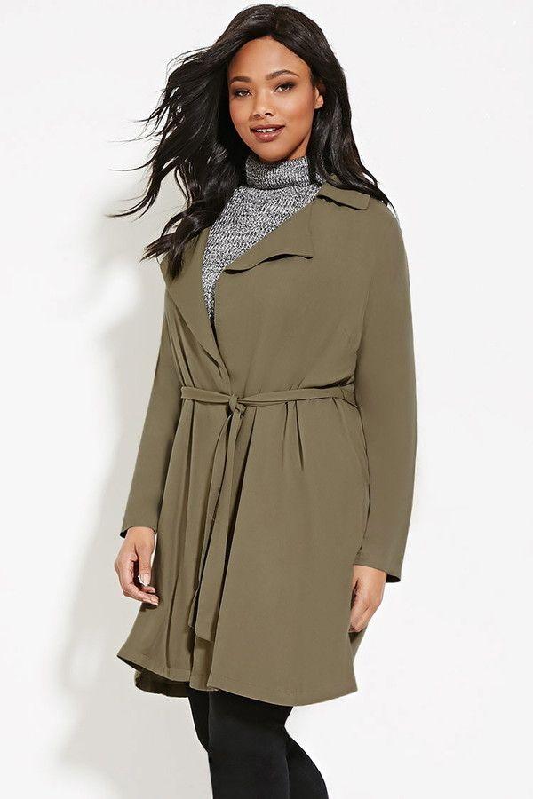 Longline blazer dress plus