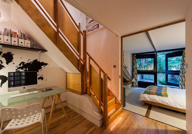 倫敦 25 坪連棟透天屋改造 - DECOmyplace | Apartment design