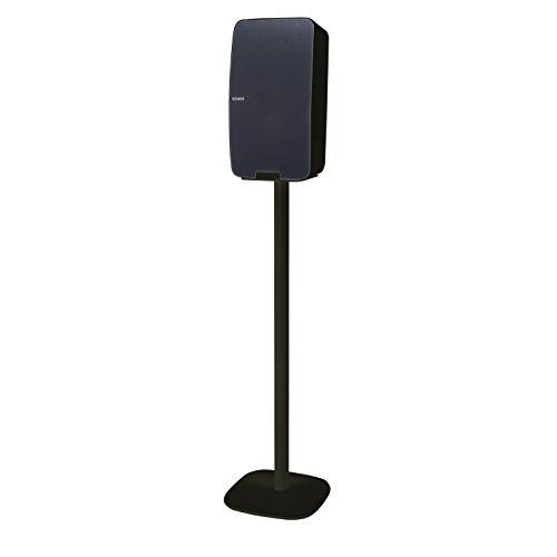 Vebos floor stand Sonos Play 5 gen 2 black  vertical en optimal experience in every room  Allows you to place your SONOS PLAY 5 exactly where you want it  Two years warranty -- Want to know more, click on the image. (Amazon affiliate link)