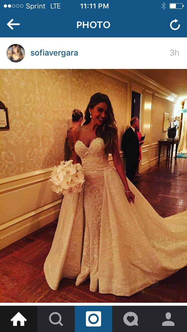 Sofia Vegera wedding gown