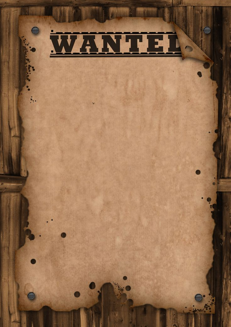 wanted poster template | WANTED - Template by Maxemilliam