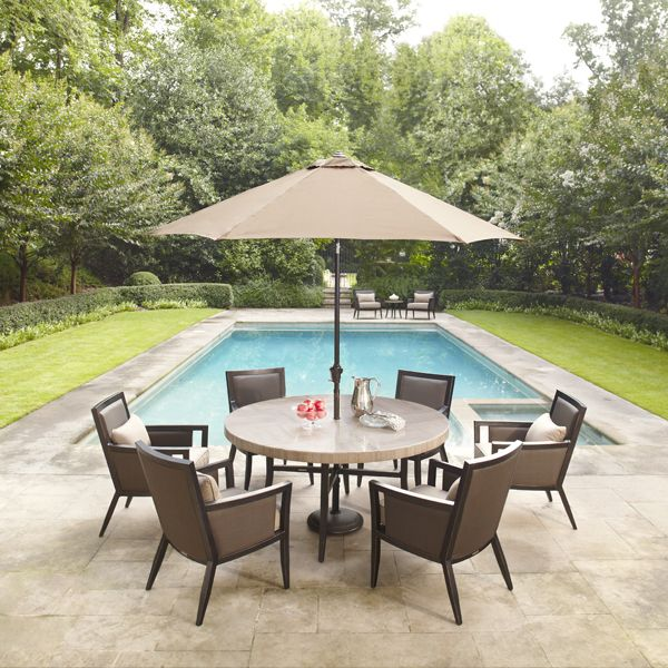 Brown Jordan Award Winning Patio Furniture Is Now Sold At The HomeDepot.  Select Brown Jordan For Your Next Outdoor Dining Set Or Outdoor Seating Set.