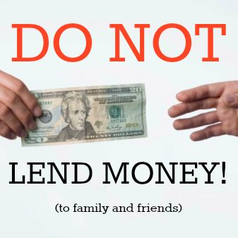 Why You Shouldnt Lend Money To Family And Friends Money Matters