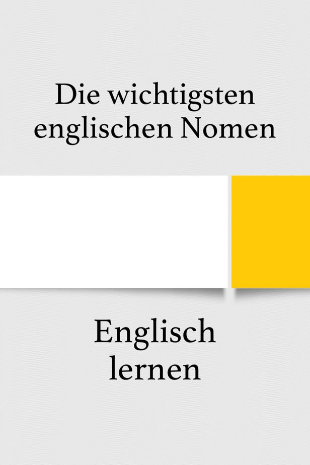 Geduld Englisch