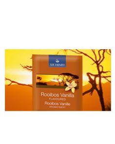 Sir Henry Tea - Rooibos Vanille 25 x 2gr