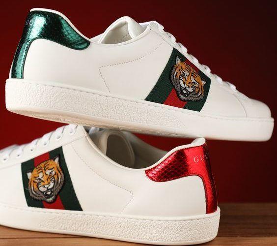 Tiger Gucci ♥ Мужская Обувь, Обувь На Каблуках, Модная Обувь, Мужская Мода, 74ee7daec4b