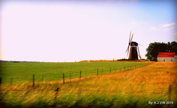 Windmill | Photo made from car