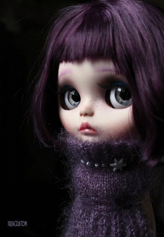 Ooak Custom  Blythe Art Doll  Mizia  by Iriscustom by aline8