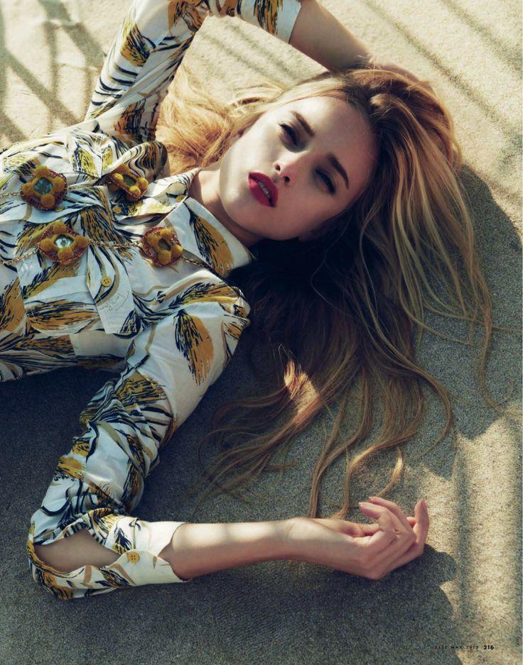 #MarcelinaSowa by #AkinoriIto for #Elle Japan May 2013
