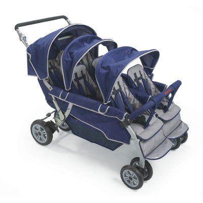 Angeles Bye Bye Stroller - 6 child, Stroller for 6 children - Little Bugs Store