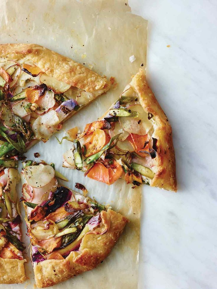Vegetable Galette Recipe