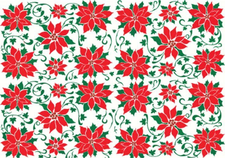 Cheery Lynn Designs - Poinsettia - E129, $14.95 (http://www.cheerylynndesigns.com/poinsettia/)