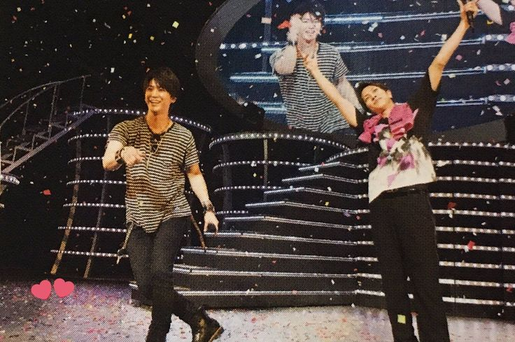 Kame at Yamapi's concert