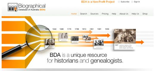 Biographical Database of Australia Adds 250,000 New Records - Genealogy & History News