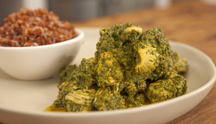 Kale and Turkey Curry