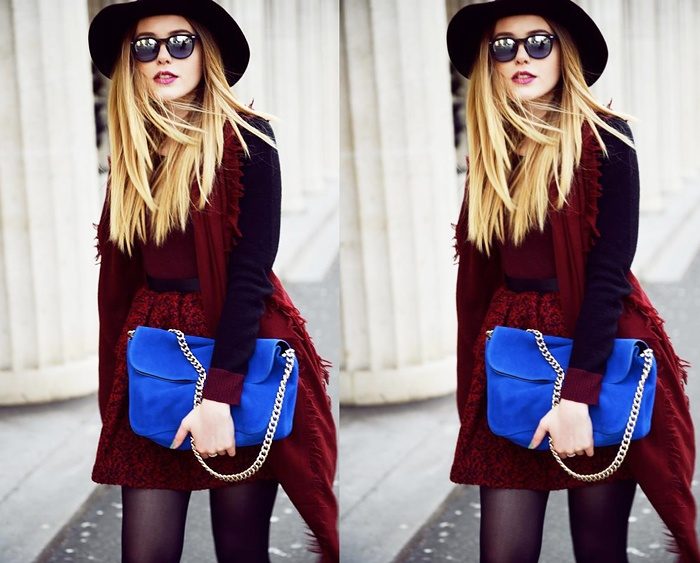 CONTEST ! Win A Electric Blue Clutch Bag For 200 $ !