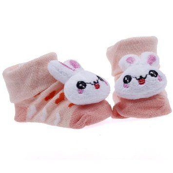Pusat Sepatu Wanita - Eozy Lucu Indah Kelinci Newborn Baby Unisex Indoor Anti-slip Hangat Socks Knitting Hewan Kartun Crib Sepatu Boots Booties | Pusat Sepatu Bayi Terbesar dan Terlengkap Se indonesia