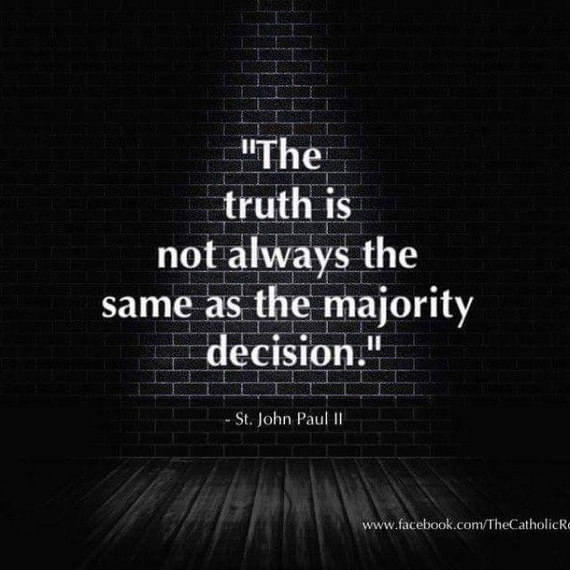 """#StPopeJohnPaulII #Catholic #Truth"""