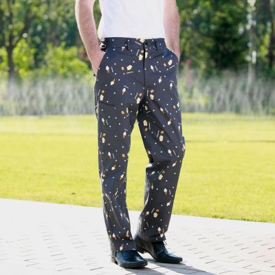 2015 New Printed Dessert Fashion Chef Pants chef service Kitchen Trouser pant frtee shipping #Affiliate