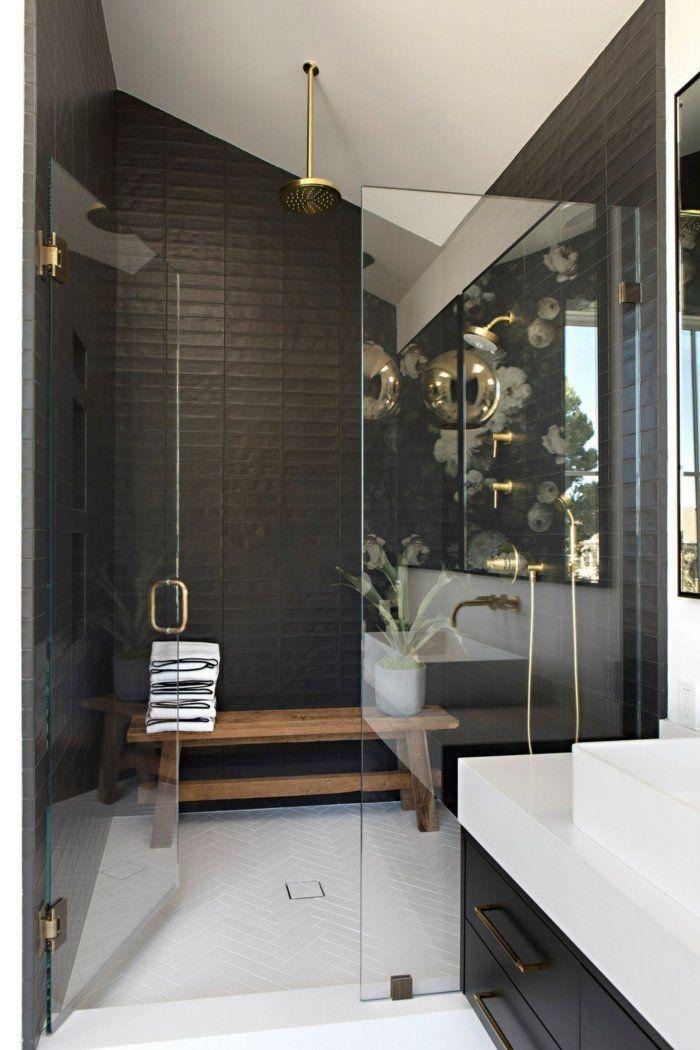 ▷ 1001 + idées pour la salle de bain industrielle magnifique - Porte Serviette Chauffant Leroy Merlin