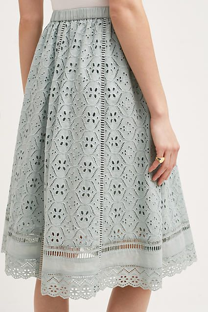 Catriona Midi Skirt - anthropologie.com