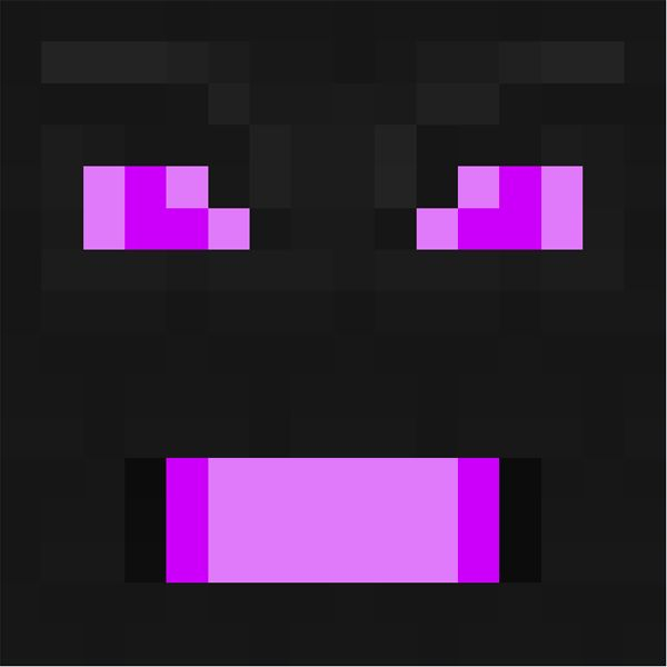 Minecraft Character Face | Image Print Image Save