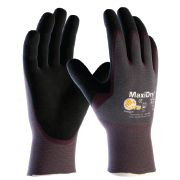 MaxiDry® Code: 56424  Palm coated | ultra-lightweight | nitrile dual coated | grip gloves | designed to provide comfort | grip and protection in oily and dirty precision handling tasks |  For more information please visit:  http://www.keypoint.ie/atg-glove-solutions/