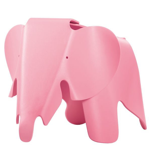 Eames elephant, vaaleanpunainen