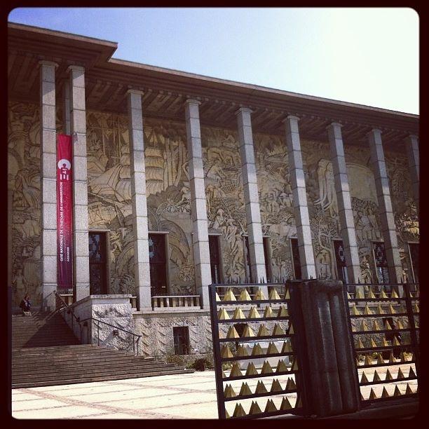 Ancien Musée des Colonies, achevé en 1931 pour l'exposition coloniale de Paris. Aujourd'hui Musée de l'immigration