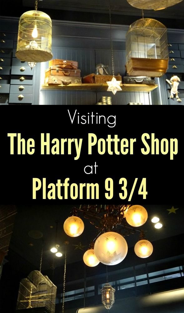 Indulge your inner witch or wizard at London's very own Harry Potter Shop at Kings Cross station!