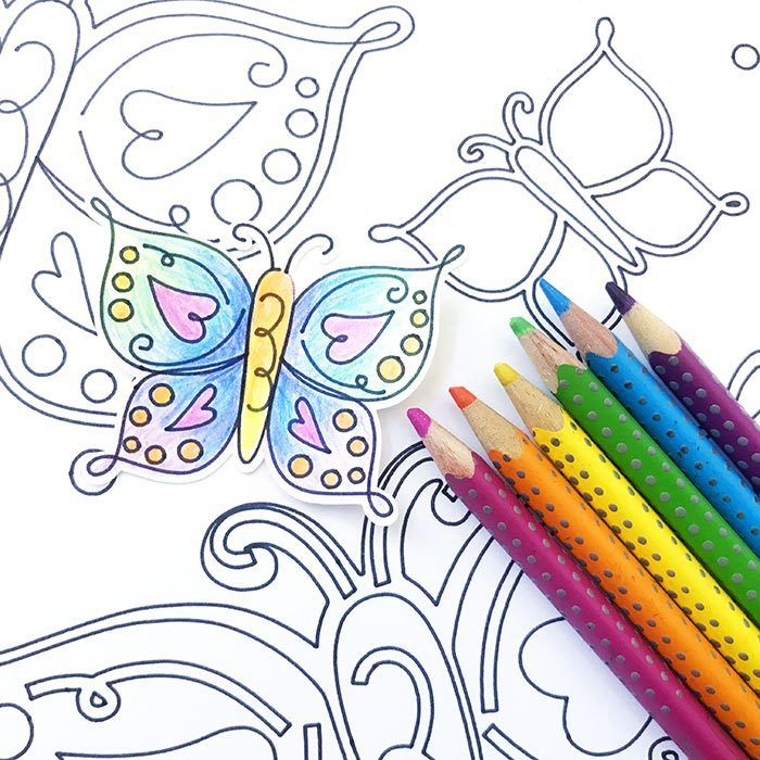 Make Your Own Butterfly Coloring Page Butterfly Coloring Page Valentines Day Coloring Page Coloring Pages