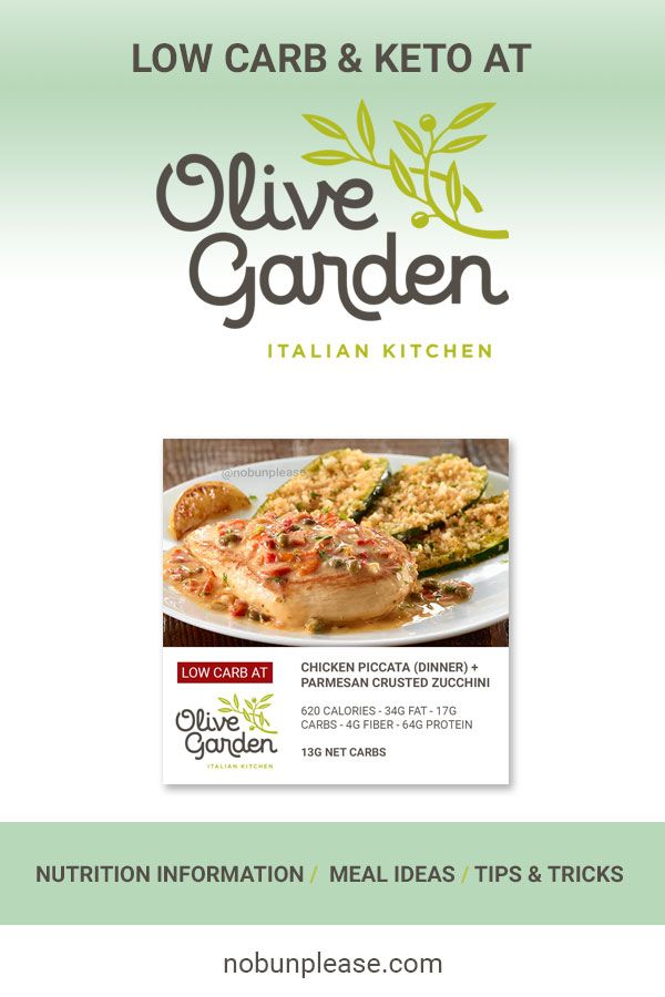 Keto At Olive Garden Low Carb Meal Options Nutrition Low Carb