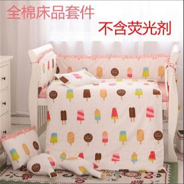 Beddengoed Set Baby 100% katoenen Baby Beddengoed Set voor Peuter Beddengoed voor Meisje Jongen Katoen Trooster