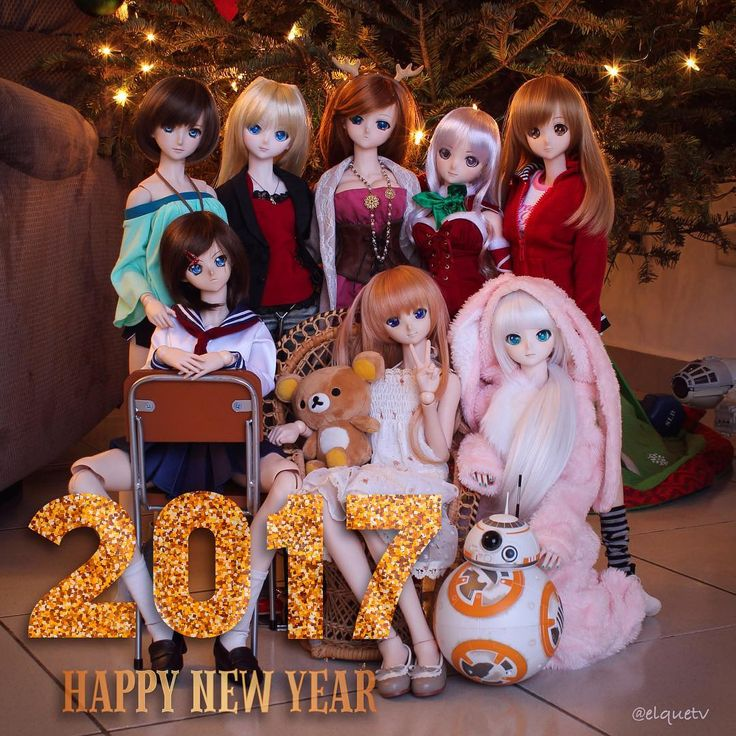 Happy new year 2017! To all #instafriends  hope this year will be great for you . #smartdoll #dollfiedream #happynewyear #2017 #dollstagram #instadoll #toyphotography #toyslagram #volks #pty