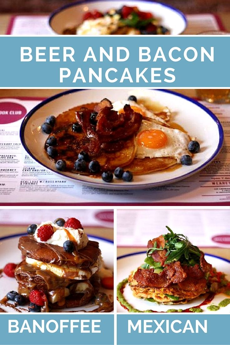 Imagine your favourite foodstuffs - bacon and beer - then imagine eating them on a pancake. It's the dream right? Now you can and there are different types - banoffee, Mexican....so much choice for Pancake Day.