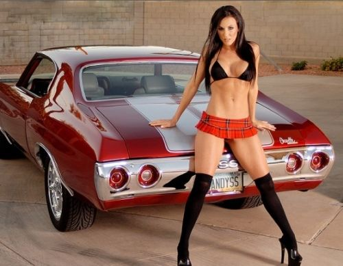 Cars babes pic 69