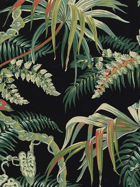 Jungle Print Wallpaper | AmericanBlinds.com