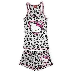 Hello Kitty Leopard Print Pj's!!! <3