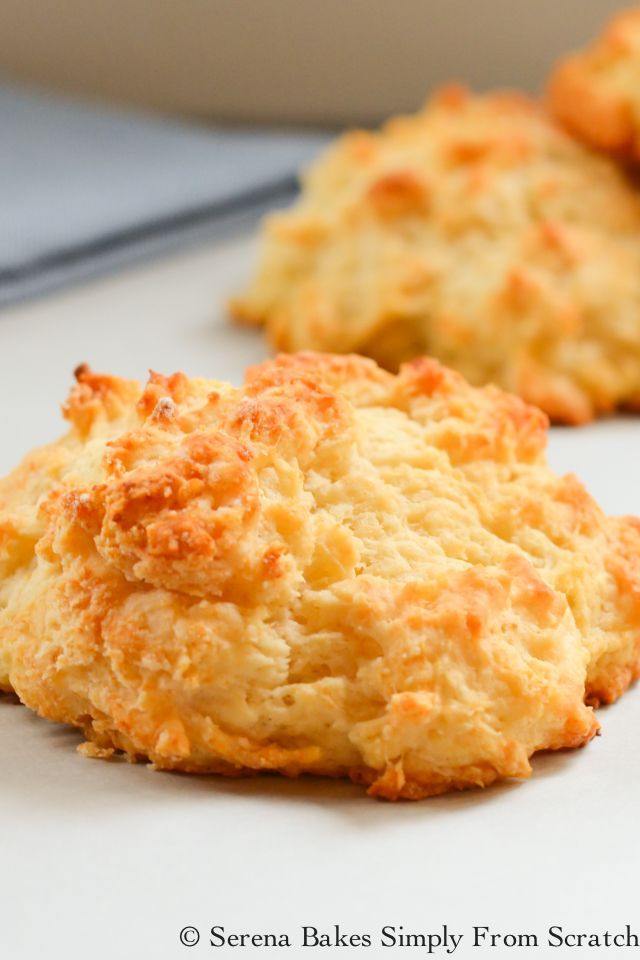 Easy to make Buttermilk Drop Biscuits are the perfect vessel for Biscuits with Gravy or smothered in butter with jam.