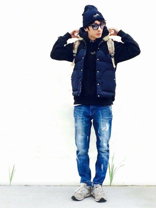 yuuma│Leylineのパーカーコーディネート-WEAR