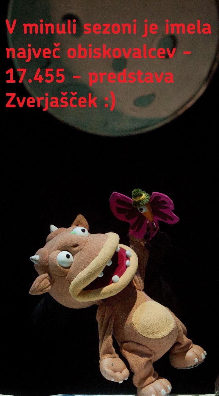 Zverjašček je nadaljevanje Zverjasca, prav tako velike uspešnice Lutkovnega gledališča Ljubljana. Obe slikanici je napisala angleška avtorica Julia Donaldson. #gruffalo