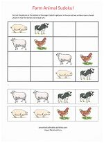 Easy Beginning Sudoku Puzzles for Kids! www.preschool-printable-activities.com