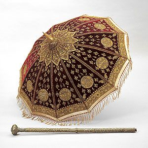 , Ceremonial umbrella for royalty [payung]