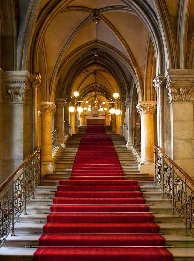 601 Red Carpet Staircase Backdrop